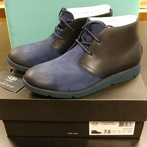 UGG Black Well Boots for Men